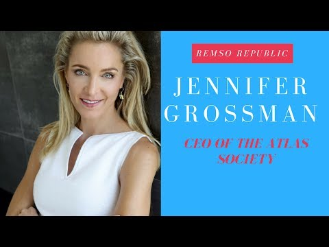 Atlas Society's Jennifer Grossman Is Making Rand Fun Again