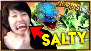How SALTY Can TOAST Get | Saltiest Hearthstone Moments Ep.44 | Hearthstone