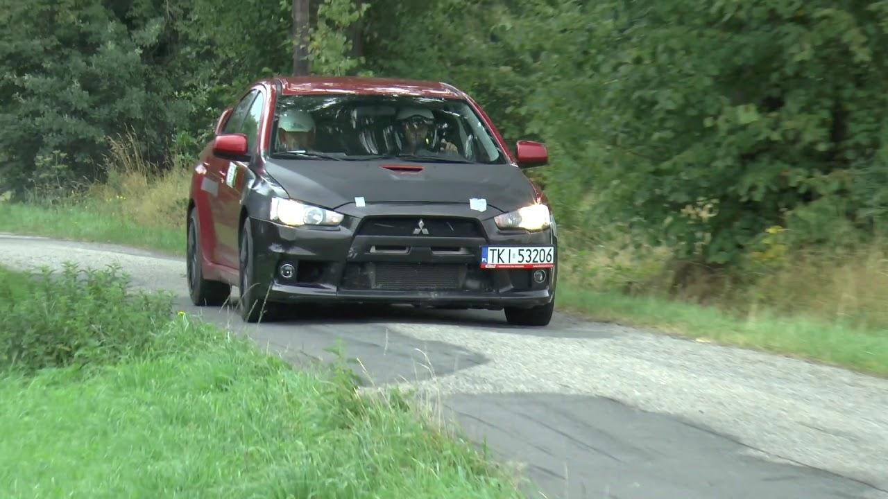 Super Sprint Lipowiec 2017 – Mirosław Macura / Grzegorz Pikuła – Mitsubishi Lancer