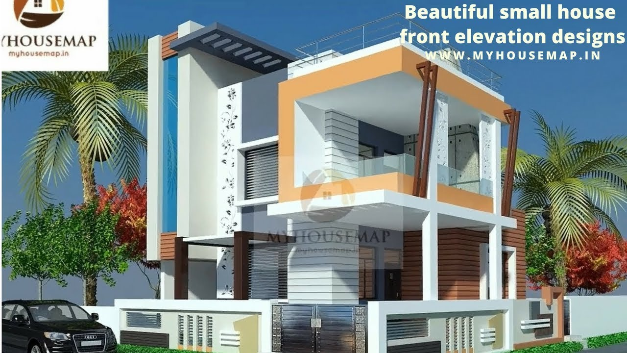 Front Elevation Of Very Small House : Beautiful small house front elevation designs best d