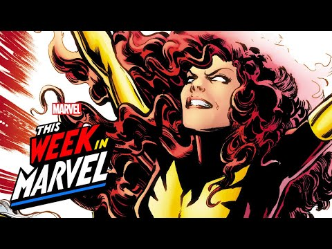 Jean Grey as the Phoenix | This Week in Marvel