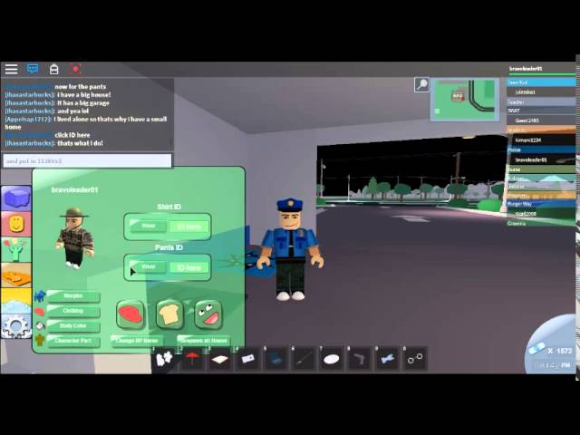 roblox police clothing