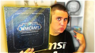 WOW ЗА 6000 РУБЛЕЙ! - World of Warcraft: Battle for Azeroth (Collector's Edition)