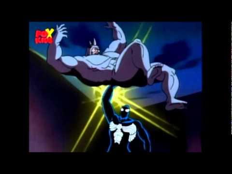 black spiderman vs rhino - photo #45