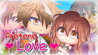 Pretend Love | Romance Gacha Life Mini Movie | GLMM