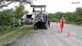 На трассе Керчь-Феодосия снова начали ремонт дороги (фото, видео)(, 2015-07-01T17:32:51.000Z)