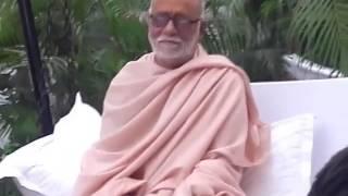 Diwakar Meena with Morari Bapu ji...LIVE