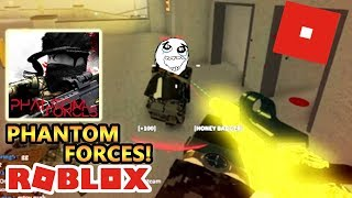 Phantom Forces, You'll Regret Finding This Weapon Pointing At You! Roblox #2 FPS SERIES