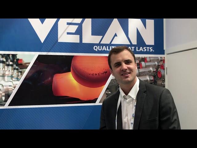 VELAN SAS Interview at Atom Expo 2019