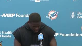 Frank Gore Danny Amendola TALK Dolphins Football