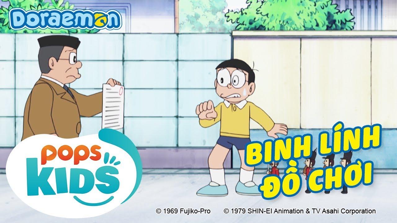 [S7] Doraemon Tập 341 - Bộ Vẽ Mặt Người Gồm Xóa Và Bút Vẽ, Binh Lính Đồ Chơi - Hoạt Hình Tiếng Việt