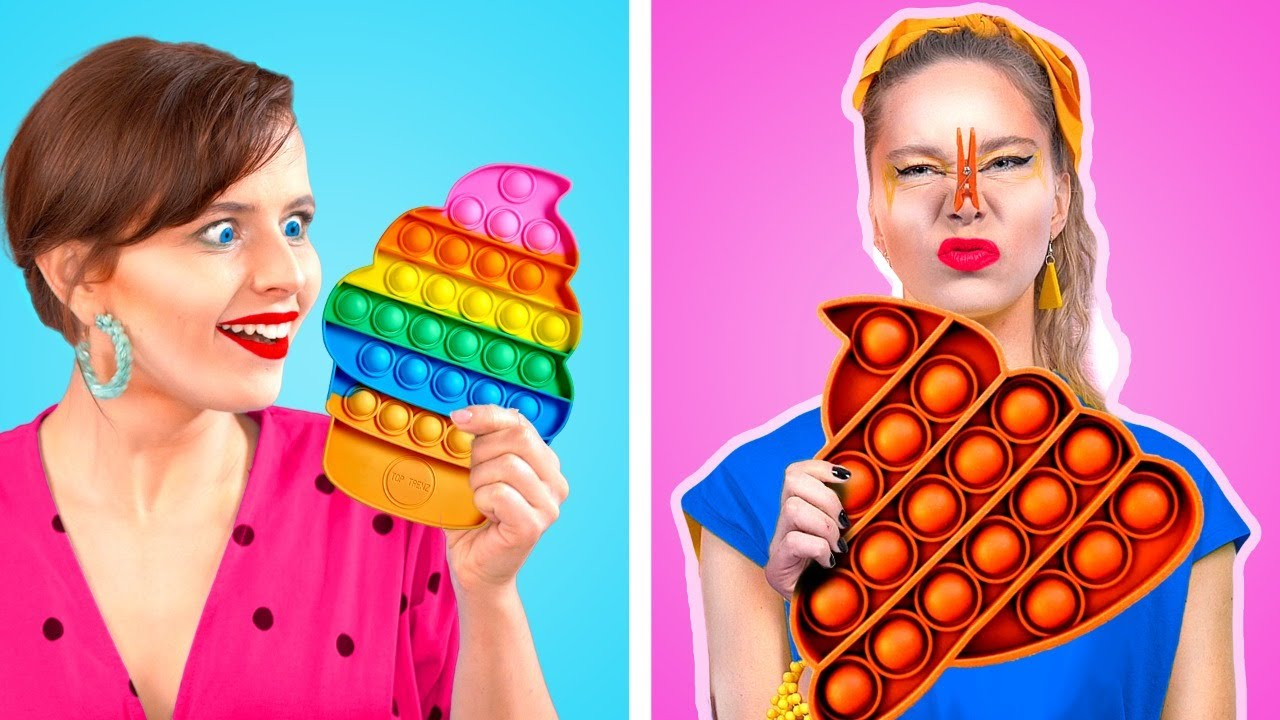 Download Funny Ways To Sneak Food and Makeup! Crazy Sneaking Ideas By KABOOM!