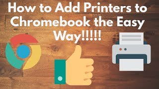 How to Add Printers to Chromebook the Easy Way!