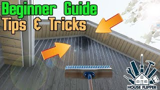 House Flipping for beginners || House Flipper Game Tips & Tricks