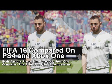 FIFA 16 PS4 Vs Xbox One Graphics Comparison