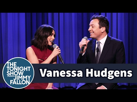 Vanessa Hudgens and Jimmy Fallon Sing the Friends Theme Song