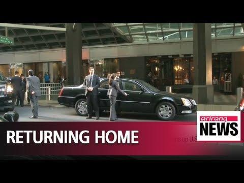 N. Korean leader Kim Jong-un's top aide, Kim Yong-chol, wraps up U.S. trip