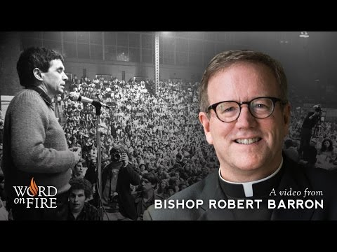 Bishop Barron on Daniel Berrigan and Non-violence