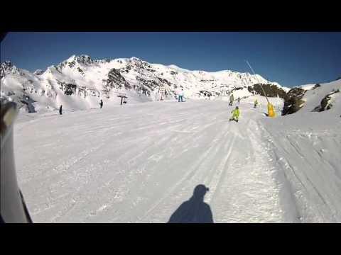 Nuestro becario Joan nos enseña la estación de esquí de Vallnord - Ordino Arcalís (Andorran