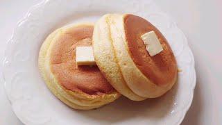 노오븐 ! 달걀 1개로 간단하게 수플레 팬케이크 만들기
