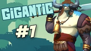 Gigantic Gameplay Part 1 - Lord Knossos Beast Mode (Xbox One Beta Gameplay)