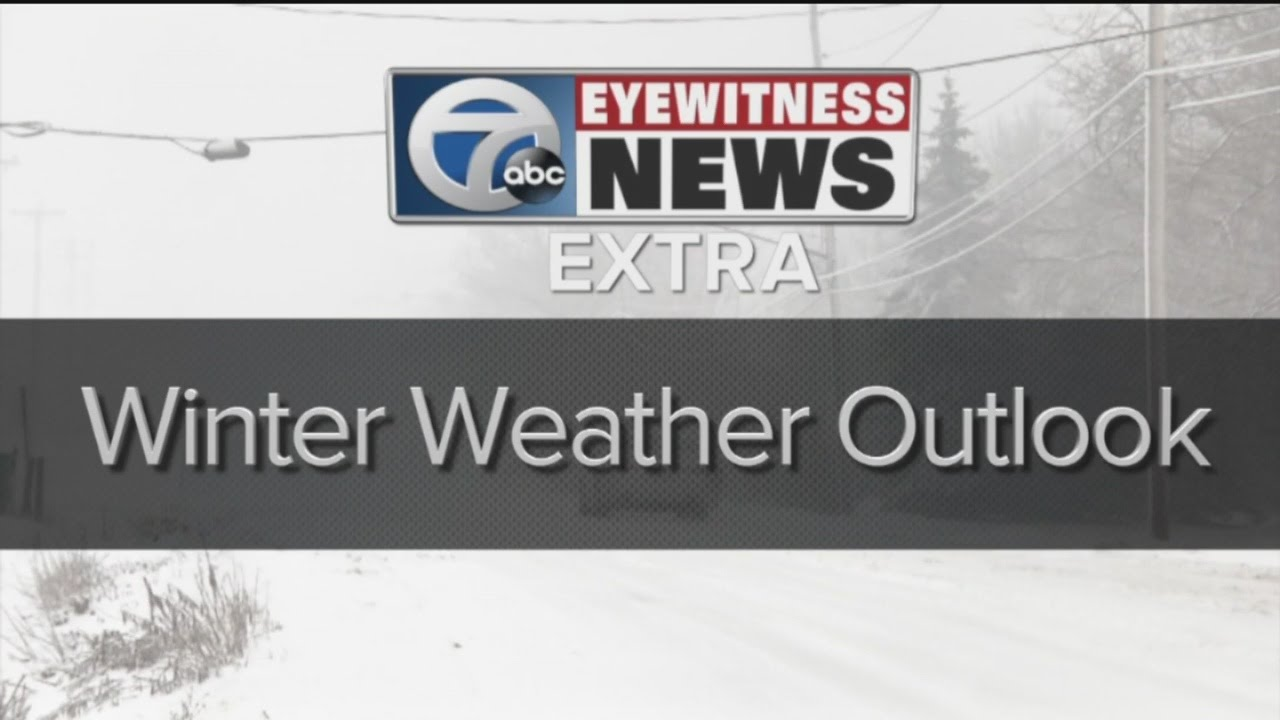 7 First Alert winter weather outlook for Western New York