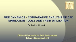 Fire dynamics - Comparative an…