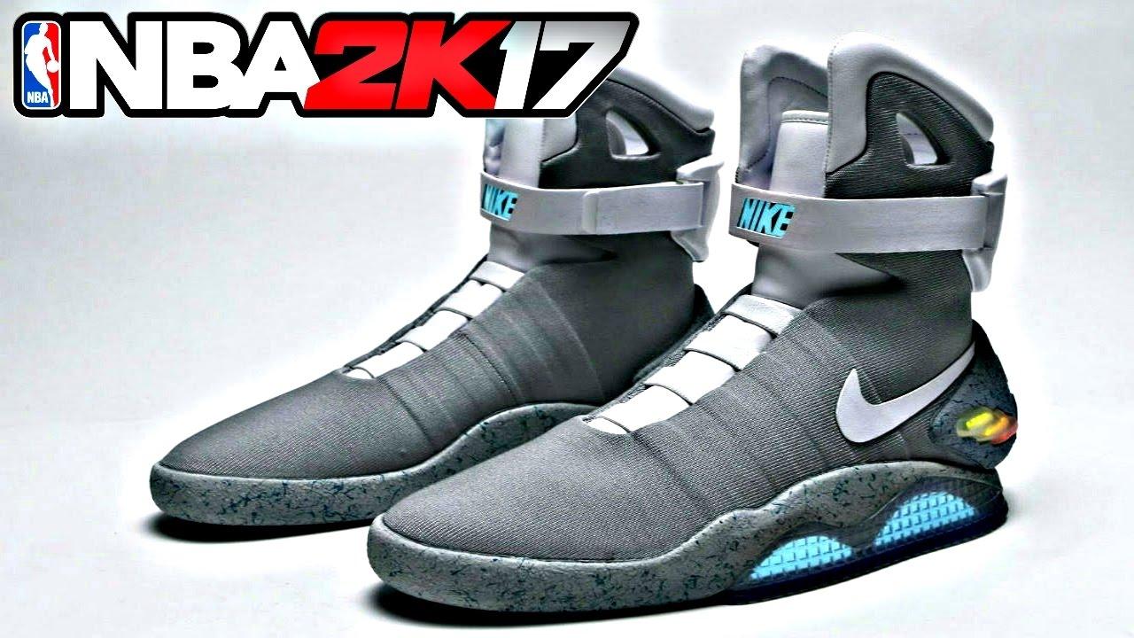 NBA 2K17 Shoe Creator Nike Air Mag