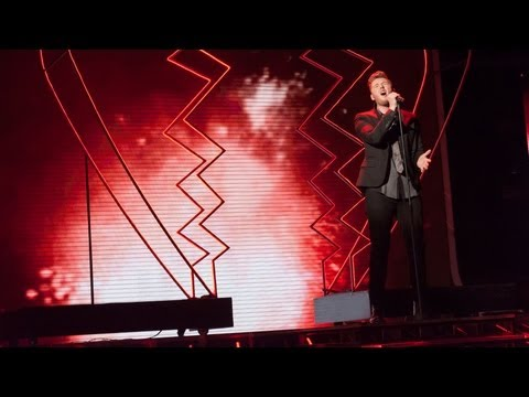 James Arthur sings The Power Of Love -...