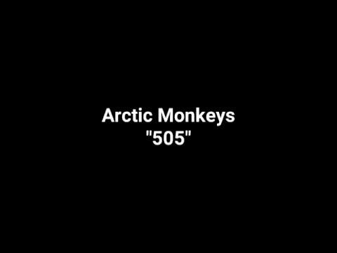 """Arctic Monkeys """"505"""" (Karaoke)"""