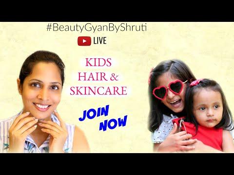 Best Skincare & Haircare for Kids ft. MyMissAnand #BeautyGyanByShruti
