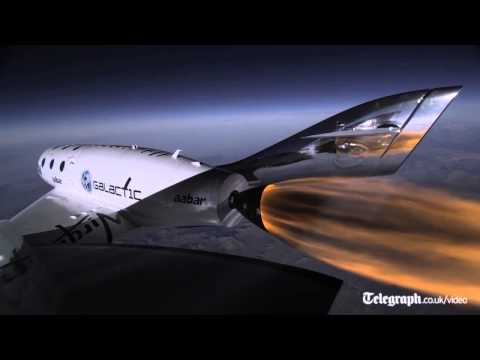 Stunning video shows Virgin Galactic test flight