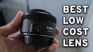BEST Budget Lens for YouTube - Canon EF 50mm f/1.8 Review