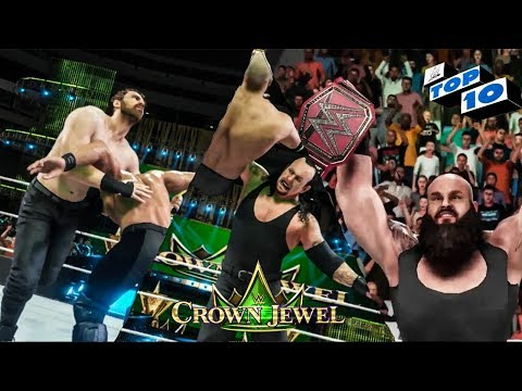 WWE 2K19 Crown Jewel Top 10 Predictions!
