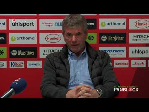 Pressekonferenz vor dem Heimspiel gegen Dresden