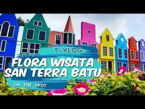 vlog-|-flora-wisata-san-terra,-destinasi-ratusan-bunga-berlatar-replika-korea-dan-belanda