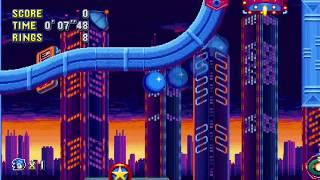 Sonic Mania - Studiopolis 1 (Sonic) Speedrun in 42.37
