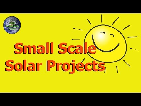 Solar Projects - Small Scale Solar Projects