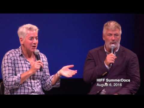 BETTING ON ZERO: Hamptons Film SummerDocs Q&A With Alec Baldwin, Ted Braun, Bill Ackman