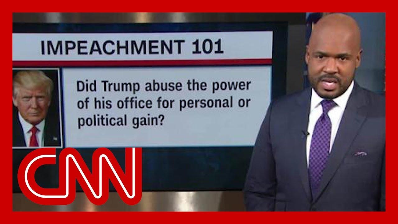 CNN's Victor Blackwell breaks down the impeachment probe