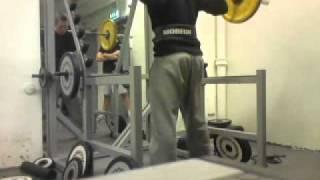 40 rep squats