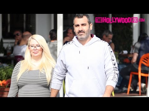 Jenna Jameson Speaks On Her Pregnancy With Lior Bitton At Fred Segal 3.4.17  TheHollywoodFix.com