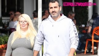 Jenna Jameson Speaks On Her Pregnancy With Lior Bitton At Fred Segal 3.4.17 - TheHollywoodFix.com