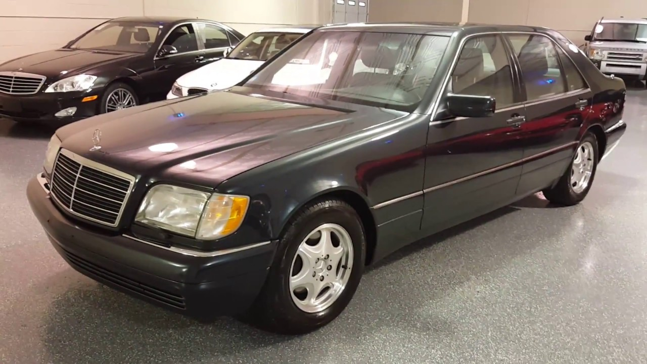 1999 Mercedes Benz S420 Sold 2698 Plymouth Mi Youtube