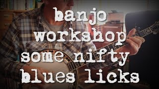Beginning Bluegrass Banjo - Some nifty blues licks