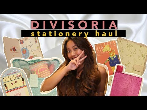 Divisoria Haul 2017 (Philippines) | Notebooks, etc | Part 2