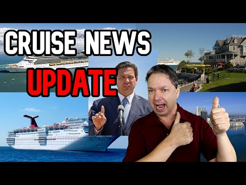 BREAKING CRUISE NEWS - More US Ports Opening
