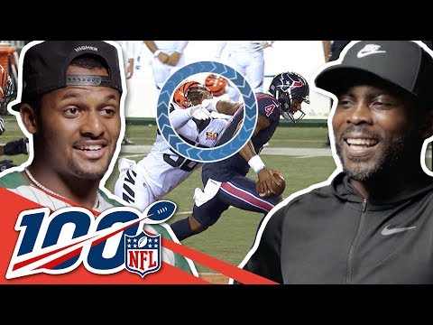 Michael Vick & Deshaun Watson Show Off Their Moves! | NFL 100 Generations