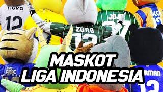 Download lagu KEREN!!! Inilah Para Maskot Milik Milik Klub Sepakbola Indonesia