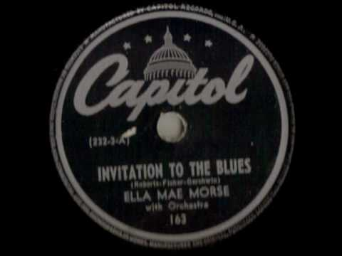ELLA MAE MORSE ~ NO LOVE, NO NOTHIN` ~ 1943